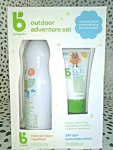 Babyganics 5oz Repellant and 2oz Sunscreen Duo -EXP 01/2022  SEALED NEW -STORE - image 1