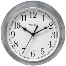Westclox 46984A 9 Decorative Wall Clock (Gray) - $24.17