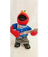 1995 ELMO Rockin Guitar Plays Music Talks Animated works rocks hard + mo... - $24.74