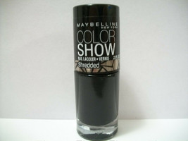 Maybelline Color Show Shredded #60 Carbon Frost - $5.90