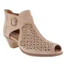 Earth Women Ankle Booties Kelsey Size US 6.5B Dark Blush Suede - $37.80