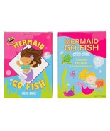 4-Pack Go Fish Card Game Matching Game for Kid, Mermaid Design, 48-Card ... - $9.89