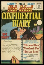 HIGH SCHOOL CONFIDENTIAL DIARY #5 1961-CHARLTON-10 CENT G/VG - $63.05