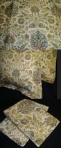 2 Two standard Sham Pillow Cover New Ralph Lauren MARRAKESH PAISLEY BEIG... - $69.99