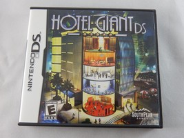 Hotel Giant DS (Nintendo DS, 2008) COMPLETE - $4.99