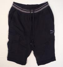 Puma Habitat Black Dropped Crotch Shorts Men's NWT - $59.99