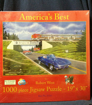 """AMERICA'S BEST 1000 PIECE JIGSAW PUZZLE """"""""GRAND CANYON CAVERNS"""" NEW-SHIP... - $19.95"""