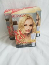 Revlon Salon Color #10 Lightest Natural Blonde Booster Kit lot x 3 - $57.42