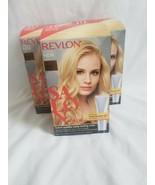 Revlon Salon Color #10 Lightest Natural Blonde Booster Kit lot x 3 - $57.42