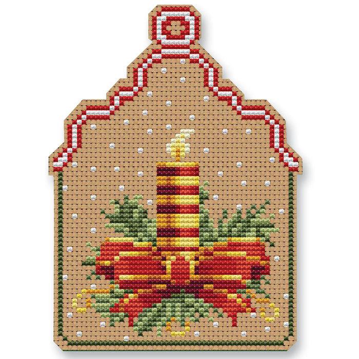 Christmas candle ornament kit