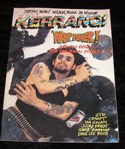 Zodiac Mindwarp gillan judas priest fiona kiss kerrang july 1986 - $16.99
