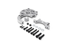 Gmade GR01 Aluminum Motor Mount Set Silver: GOM 30081 - $38.62