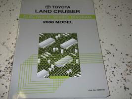2006 Toyota LAND CRUISER Electrical WIRING Diagram Service Shop Repair M... - $24.70