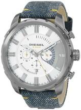Diesel DZ4345 Stronghold Denim Chronograph Mens Watch - $156.49 CAD