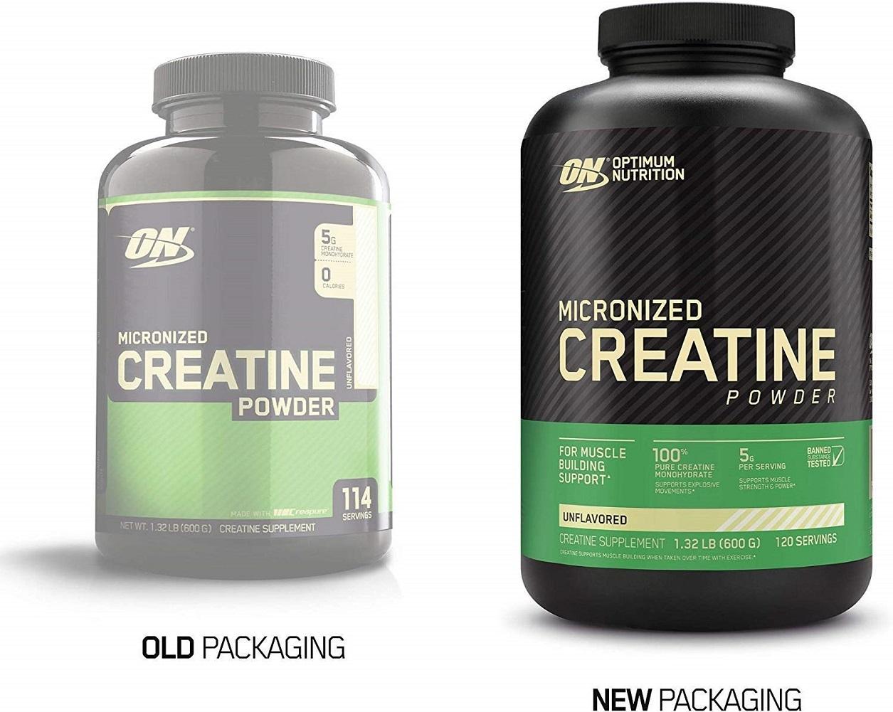 Optimum Nutrition Micronized Creatine Monohydrate Powder, Unflavored, Keto - $43.80
