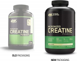Optimum Nutrition Micronized Creatine Monohydrate Powder, Unflavored, Keto - $43.80