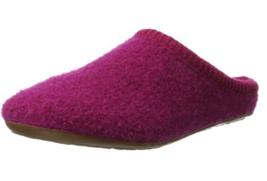 HAFLINGER Everest Classic Kardinal PINK wool slippers  US 6 9 EU 37 40 - $59.99