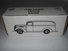 Ertl 1938 Panel Truck Diecast Bank 1:25 Scale 1993 #9637 JC Penney #2733... - $10.63