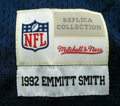 EMMITT SMITH / HALL OF FAME / AUTOGRAPHED DALLAS COWBOYS THROWBACK JERSEY / COA image 7