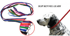 6pc DOG Quick Fit ANIMAL CONTROL SLIP NYLON LEAD LEASH Grooming Kennel T... - $12.59