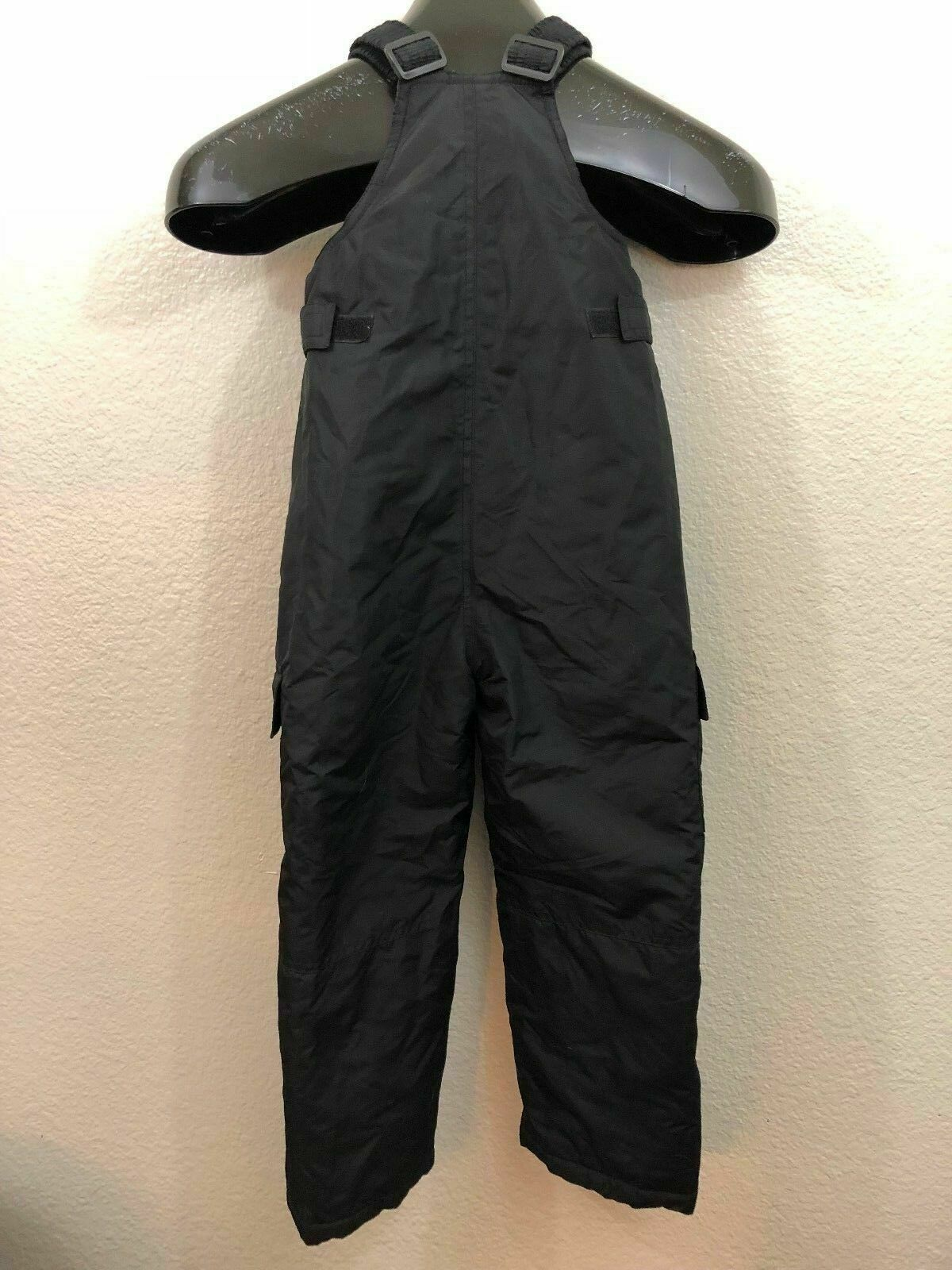 Lion Force Protection Black Youth Kids Ski Bibs Size Small 4