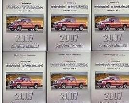 2007 Dodge Ram Truck 1500 2500 3500 Service Shop Repair Manual Set Factory New - $712.75