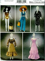 VOGUE Doll Collection Sewing Pattern 7728 Fashion Dolls Summer Uncut - $17.99