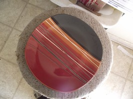 Home Trends Bazaar Red dinner plate 9 available - $8.46