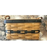 1997 Longaberger Collectors Club Edition Renewal Woven Leather Handled B... - $13.99