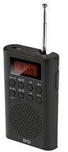 Britz Battery Operated Hybrid Power Portable Compact FM AM Digital Radio Alram C