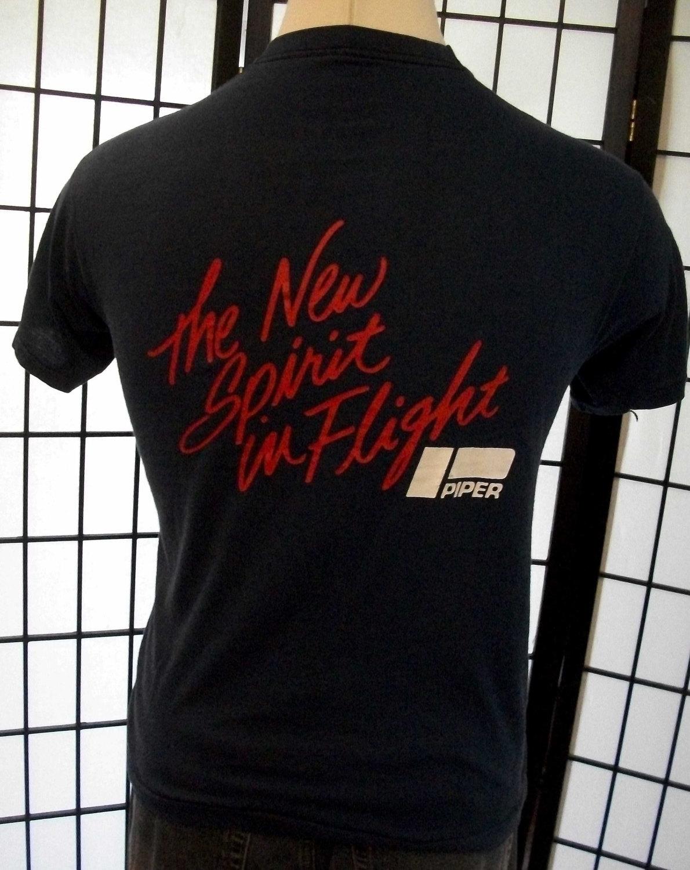 Piper - The New Spirit in Flight - Screen Stars thin retro 50/50 tee shirt xl US