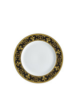 Versace by Rosenthal Versace Baroque Nero Plate 22 cm Set of 6 - $549.70