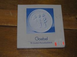 Vintage W. Germany 1985 Goebel Thank You Porcelain Medallion for Visiting  - $9.49