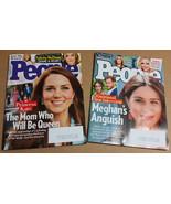 People Magazine LOT (09/23 & 11/04, 2019) Princess Kate, Megan Markle - $5.50