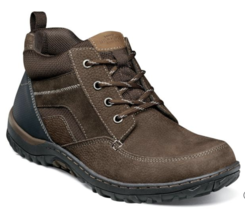 Nunn Bush Quest Moc Toe Chukka Boots Brown Suede Leather 84828-200  - $86.00