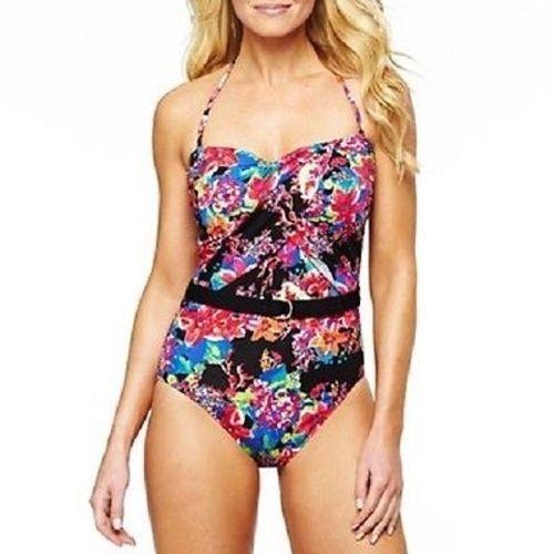 238eca410ace4 LIZ CLAIBORNE Swimsuit Bandeaukini 1-Piece and 50 similar items