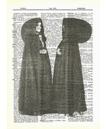 Azores Medieval Traditional Costume Dictionary Art Print fun011 - $10.99