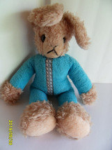 Steiff rabbit dangling button stuffed animal made in Germany 2728 - $56.99