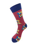 Urban Peacock Men's Novelty Fun Crew Socks - YOLO - You Only Live Once! ... - $9.95