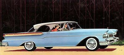 Primary image for 1957 Mercury Montclair Phaeton Coupe - Promotional Advertising Poster