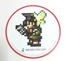 Final Fantasy XIV Class Job Round Coaster Scholar Eorzea Cafe Square Eni... - $21.62