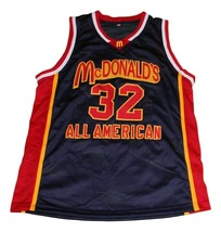 Lebron James #32 McDonalds All American New Men Basketball Jersey Black Any Size image 4