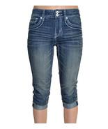 International Concepts Women's Rhinestone Shorts - Size 2 Indigo - Free ... - $18.98