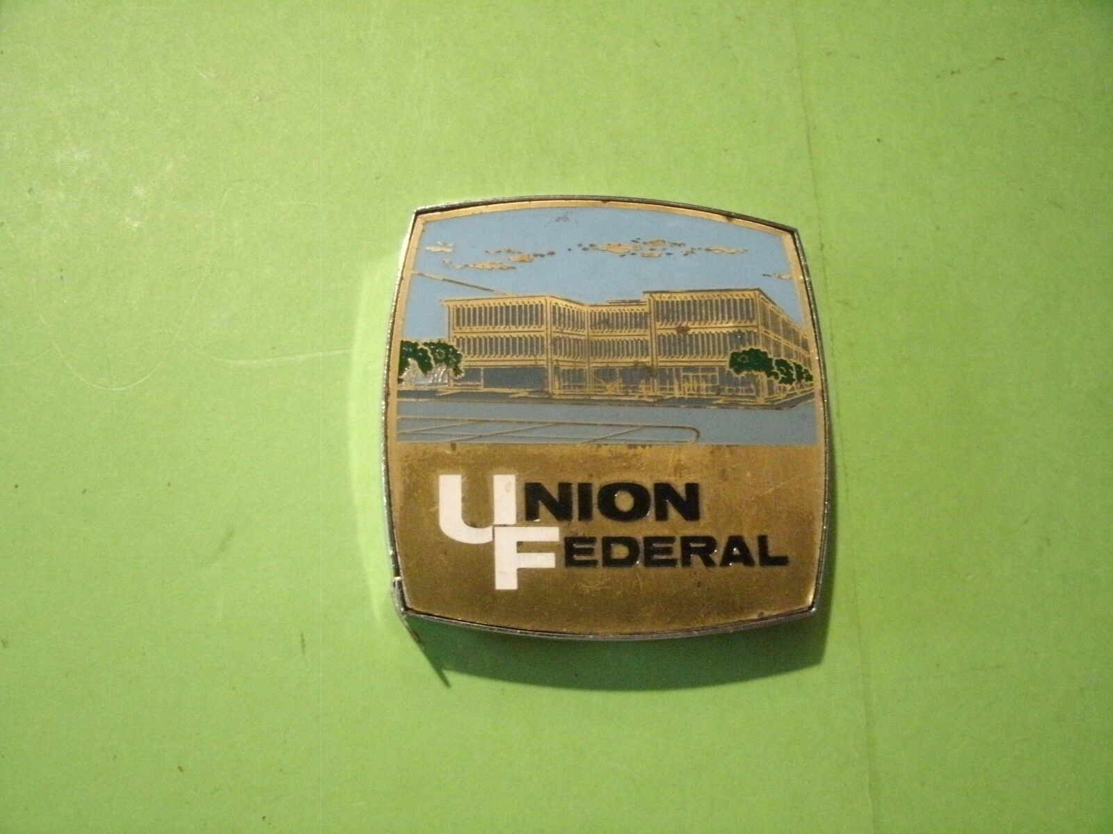 Primary image for 2#G  Vintage Union Federal TAPE MEASURE -  Really NICE !!!