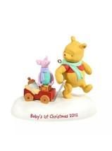 Hallmark Keepsake Winnie The Pooh Baby's First Christmas Ornament New - $11.87