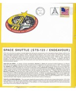 STS-123 ENDEAVOUR KENNEDY SPACE CENTER MARCH 11 2008 WITH INSERT CARD  - £1.43 GBP