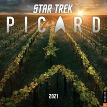 Star Trek Picard TV Series 12 Month 2021 Photo Wall Calendar NEW SEALED - $14.50