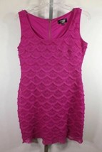 Guess Dress Sz 6 Purple Lined Frills - $34.23