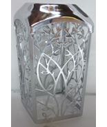 Bath & Body Works Gentle Foaming Hand Soap Sleeve Holder Silver Vines - $24.99
