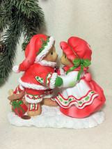 Cherished Teddies Santa Series 2016 DeWaine and Sharon  NIB #4053455 - $144.49